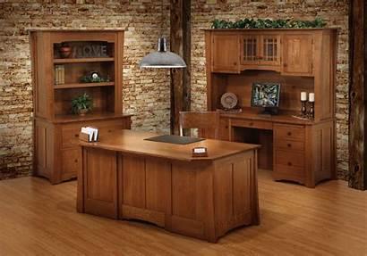 Office Desk Oak Jamestown Furniture Wood Sawn