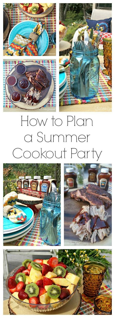 How To Throw A Summer Backyard - how to throw a summer cookout summer tablescape