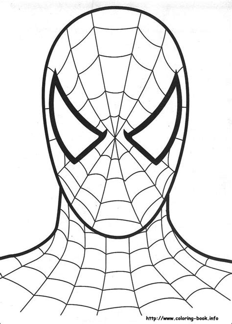 coloring pictures spiderman print color craft