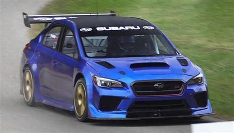 2019 Subaru Sti Ra by 2019 Subaru Wrx Sti Type Ra Nbr Special Edition