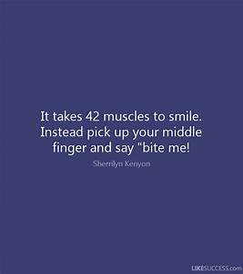It takes 42 muscles to smile. Instead pi by Sherrilyn ...