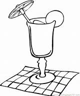 Coloring Lemonade Pages Juice Glass Cocktail Napkin Colouring Cup Drinks Drawing Water Mouth Template Getdrawings Sketch Coloringpages101 Popular Kitchenware Clipart sketch template