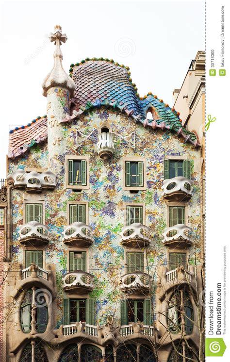 Maison Batllo Par L'architecte Catalan Antoni Gaudi