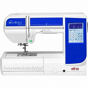 Elna eXcellence 680 Sewing Machine Sew Essential