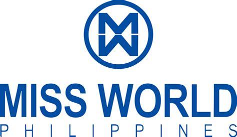 Miss World Philippines logo