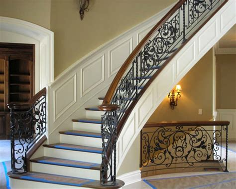wrought iron spindles rod iron spindles keep beautiful an iron stair railing