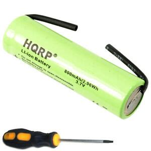 3.7V Battery for Philips Sonicare HX Series Healthy White