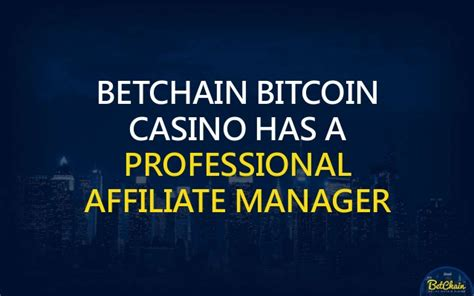 bitcoin affiliate program best affiliate programs earn bitcoin by joining betchain
