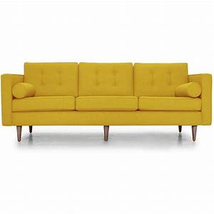 yellow leather sofa best 25 yellow leather sofas ideas on With yellow leather sofa bed