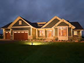 lovely house plans with walkout basements 4 craftsman style house plans for ranch homes