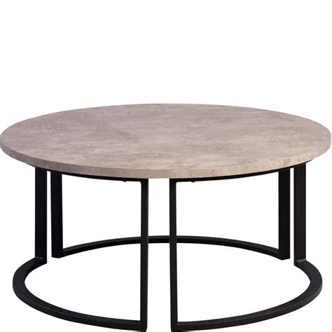 couchtisch betonoptik rund couchtisch betonoptik couchtisch innsbruck iii xx cm sonoma eiche betonoptik with couchtisch