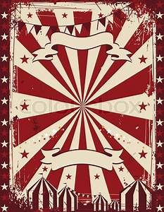 Vintage circus poster background for advertising | Stock ...
