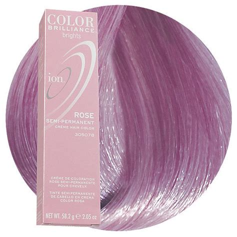 Rose Semi Permanent Hair Color Beautiful Semi Permanent