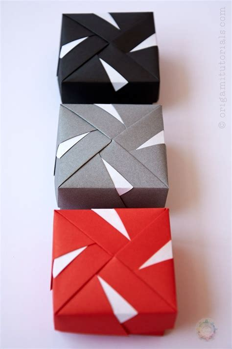 Fuse Box Tutorial by Modular Origami Box By Tomoko Fuse Origami Tutorials