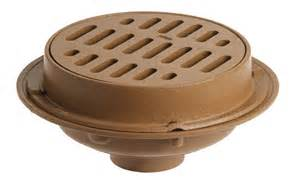 2130 medium duty floor drains with 12 quot round tops jay r