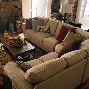 Bassett 5000 ccsectf custom upholstery manor curved corner for Quality small sectional sofa