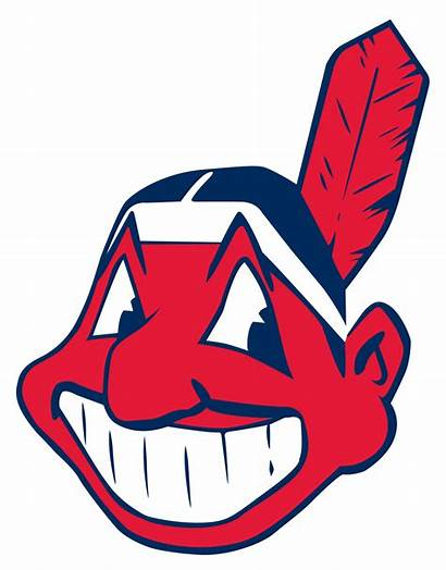 Wahoo Chief Wikipedia Indians Cleveland Svg Baseball
