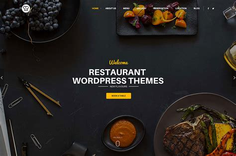 Best Modern Luxury WordPress Themes for Restaurants, Cafe