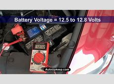 How to Test Alternator Voltage Output AutoUpkeepcom