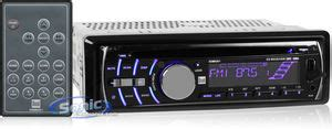 dual xdm6351 in dash mp3 wma car stereo receiver w front usb