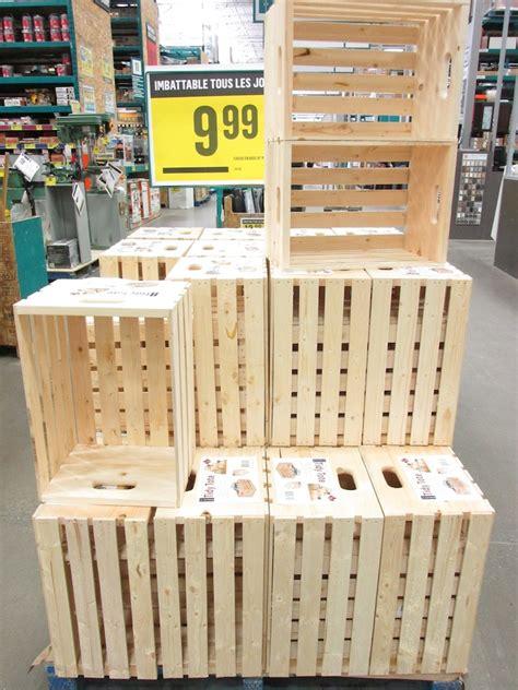 planche de bureau ikea où trouver des caisses de bois pour sa déco déconome