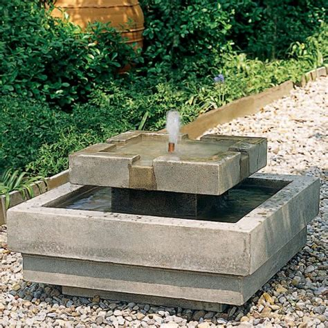 outdoor water fountains home design inside