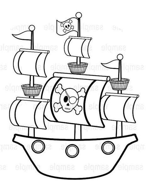 How To Draw A Pirate Boat by Step 3 Free Disney Pirate Printables These Caribbean