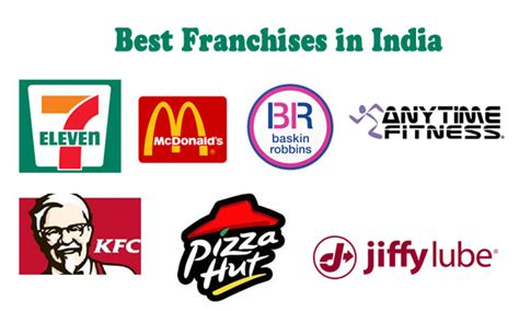 popular franchises opportunities to own in india