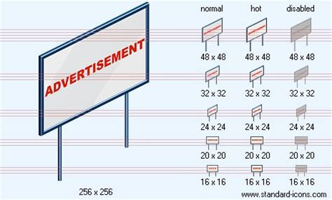 Billboard Dimensions standard icon sizes images standard size refrigerator 464 x 280 · jpeg