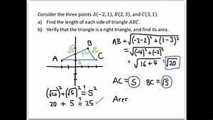 College Algebra Examples  Applications Of The Distance And Midpoint Formulas