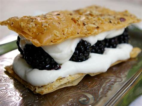 blackberry millefeuille recipes cooking channel recipe