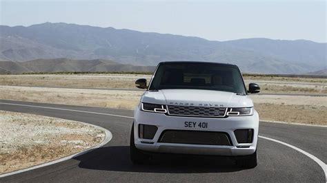 white range rover sport 2018 range rover sport phev revealed