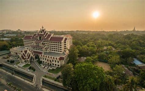 bird view picture of garden hotel yangon yangon