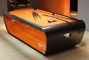 Black Light Billiard Tables by Toulet. Tons of Colors and ...