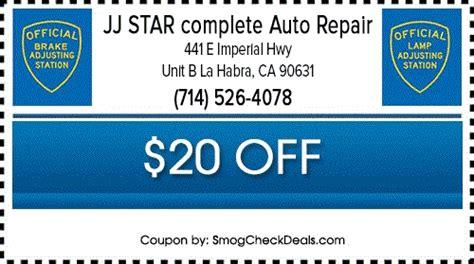 brake and l inspection 31 75 smog test with smog coupon la habra