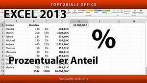 Leibrente Berechnen Excel : prozentualen anteil berechnen excel youtube ~ Watch28wear.com Haus und Dekorationen