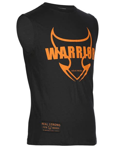 sleeveless warrior orange shirt series