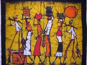 World Travel Art: African Batik Art