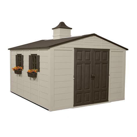 suncast storage sheds home depot shop suncast gable storage shed common 10 ft x 12 ft