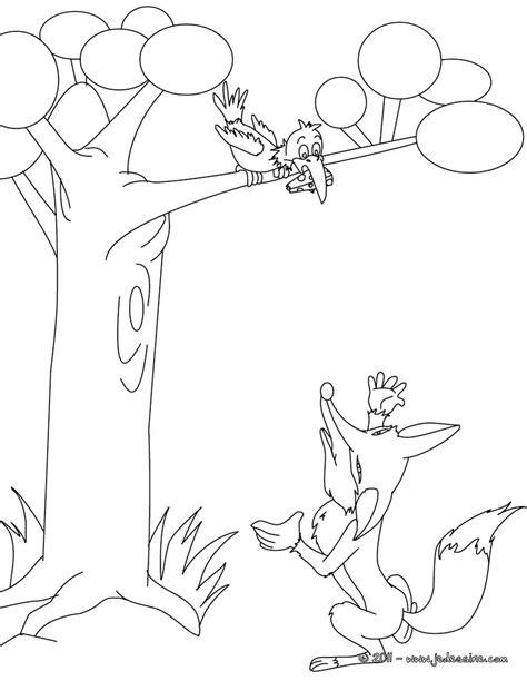 dessin renard facile dessin facile le corbeau et le renard