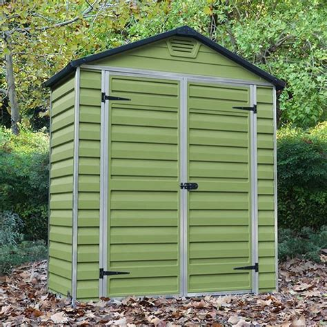 6 x 3 shed palram 6 x 3 plastic skylight shed greenhouse stores