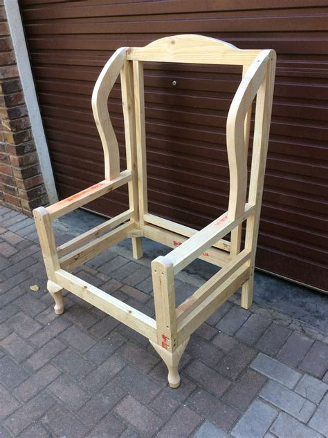 Upholstery Diy Sofa by Frame For A Wingback Chair Frames For Upholstery In 2019