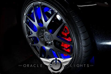 oracle wheel lights oracle illuminated led wheel rings color changing lights