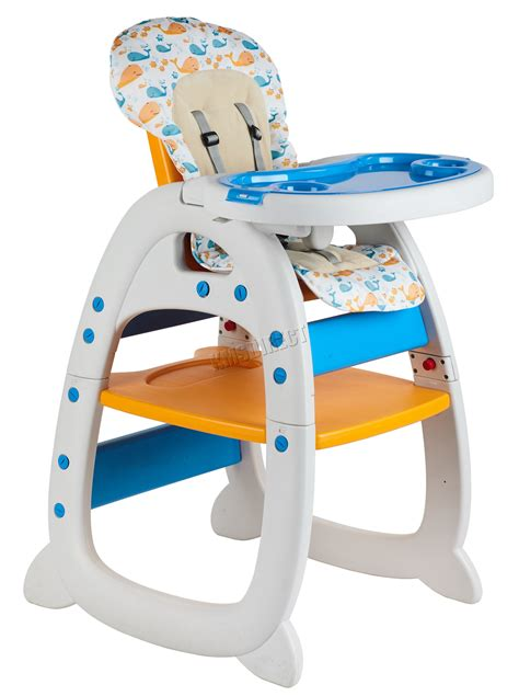 Chaise Haute New Baby by Foxhunter Baby Highchair Infant High Feeding Seat 3in1