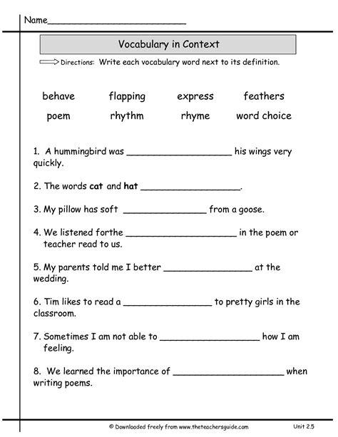 images  multiple meaning words worksheet