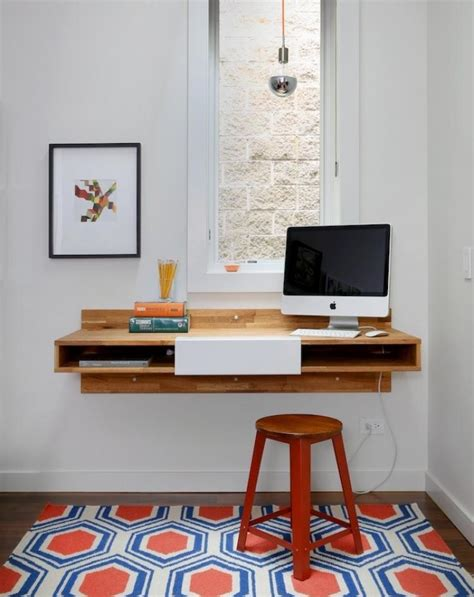 meuble bureau industriel  bureau mural diy en  idees