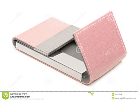 Pink Leather Business Card Holder Stock Images How To Put Business Card In Email Environmental Engineer Template Visiting Generator Free With Only Fonts Download Lowes American Express Attach Your Etsy Greeting