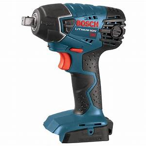 Bosch 18 V : bosch 18 volt lithium ion cordless electric 1 2 in impact wrench with led light tool only ~ Frokenaadalensverden.com Haus und Dekorationen