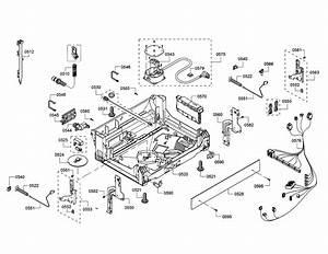 Bosch Shpm78w54n  01 Dishwasher Parts