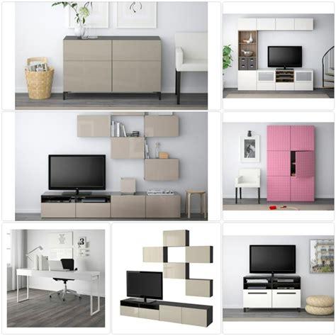 Ikea Besta Arbeitszimmer by Ikea Besta System Stilvolle M 246 Belkollektion F 252 R Mehr Stauraum